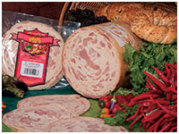 Smoked chicken ham by 90% meat content and delicious smoked flavor, is produced in order to satisfy all the smoked Sausage and Kielbasa customers.
