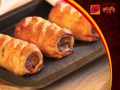 Sausage rolls, delicious and stylish for parties